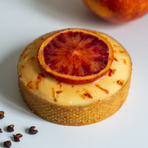 Tartelette Orange Sanguine & Poivre de Timut